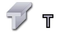 Hliníkové T-Profily