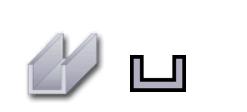Hliníkové U-Profily